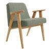 sessel, mobel, wohnen, SESSEL 366 EASY CHAIR TWEED - 366 Concept   366 armchair   Tweed 04 Aqua Green   Oak 100x100
