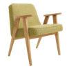 sessel, mobel, wohnen, SESSEL 366 EASY CHAIR TWEED - 366 Concept   366 armchair   Tweed 05 Lemon   Oak 100x100