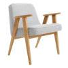 sessel, mobel, wohnen, SESSEL 366 EASY CHAIR TWEED - 366 Concept   366 armchair   Tweed 06 White   Oak 100x100