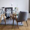 sessel, mobel, wohnen, SESSEL 366 EASY CHAIR TWEED - 366 Concept   366 armchair   Tweed 07 Grey   Mood 100x100