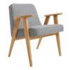 sessel, mobel, wohnen, SESSEL 366 EASY CHAIR TWEED - 366 Concept   366 armchair   Tweed 07 Grey   Oak 100x100