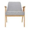 sessel, mobel, wohnen, SESSEL 366 EASY CHAIR TWEED - 366 Concept   366 armchair   Tweed 07 Grey Oak front 100x100