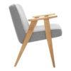 sessel, mobel, wohnen, SESSEL 366 EASY CHAIR TWEED - 366 Concept   366 armchair   Tweed 07 Grey Oak side 100x100