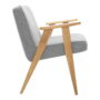 , 366 EASY CHAIR TWEED - 366 Concept   366 armchair   Tweed 07 Grey Oak side 90x90