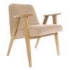 sessel, mobel, wohnen, SESSEL 366 PLUS VELVET - 366 Concept   366 armchair   Velvet 01 Sand   Oak 100x100