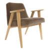 sessel, mobel, wohnen, SESSEL 366 PLUS VELVET - 366 Concept   366 armchair   Velvet 02 Taupe   Oak 100x100