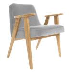 sessel, mobel, wohnen, SESSEL 366 PLUS VELVET - 366 Concept   366 armchair   Velvet 03 Mouse Grey   Oak 150x150