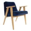 sessel, mobel, wohnen, SESSEL 366 PLUS VELVET - 366 Concept   366 armchair   Velvet 08 Indigo   Oak 100x100