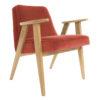 sessel, mobel, wohnen, SESSEL 366 PLUS VELVET - 366 Concept   366 armchair   Velvet 11 Chillipepper   Oak 100x100