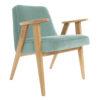 sessel, mobel, wohnen, SESSEL 366 PLUS VELVET - 366 Concept   366 armchair   Velvet 16 Mint   Oak 100x100