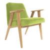 sessel, mobel, wohnen, SESSEL 366 PLUS VELVET - 366 Concept   366 armchair   Velvet 18 Light Green   Oak 100x100
