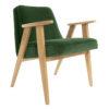 sessel, mobel, wohnen, SESSEL 366 PLUS VELVET - 366 Concept   366 armchair   Velvet 19 Bottle Green   Oak 100x100