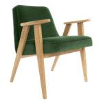 sessel, mobel, wohnen, SESSEL 366 PLUS VELVET - 366 Concept   366 armchair   Velvet 19 Bottle Green   Oak 150x150