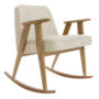 , 366 ROCKING CHAIR LOFT - 366 Concept   366 rocking chair   Loft 01 White   Dark Oak 90x90