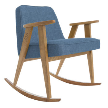 , ROCKING CHAIR 366 PLUS LOFT - 366 Concept   366 rocking chair   Loft 10 Denim   Dark Oak 350x350