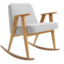 , 366 ROCKING CHAIR TWEED - 366 Concept   366 rocking chair   Tweed 06 White   Oak 90x90