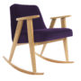 , 366 ROCKING CHAIR VELVET - 366 Concept   366 rocking chair   Velvet 15 Purple   Oak 90x90