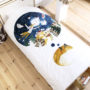 , KIDS BED LINEN SLEEPING FOX - lis 2 90x90
