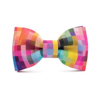 bekleidung-en, bow-ties, clothes-accessories, BOW TIE BICYCLES PINK - marthu bow tie pixel 143 350x350