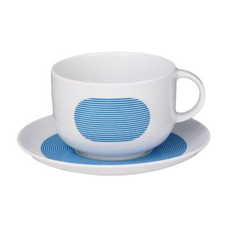 , CUP WITH SAUCER NEW ATELIER | BLUE - newatelier blue filiżanka 470x470