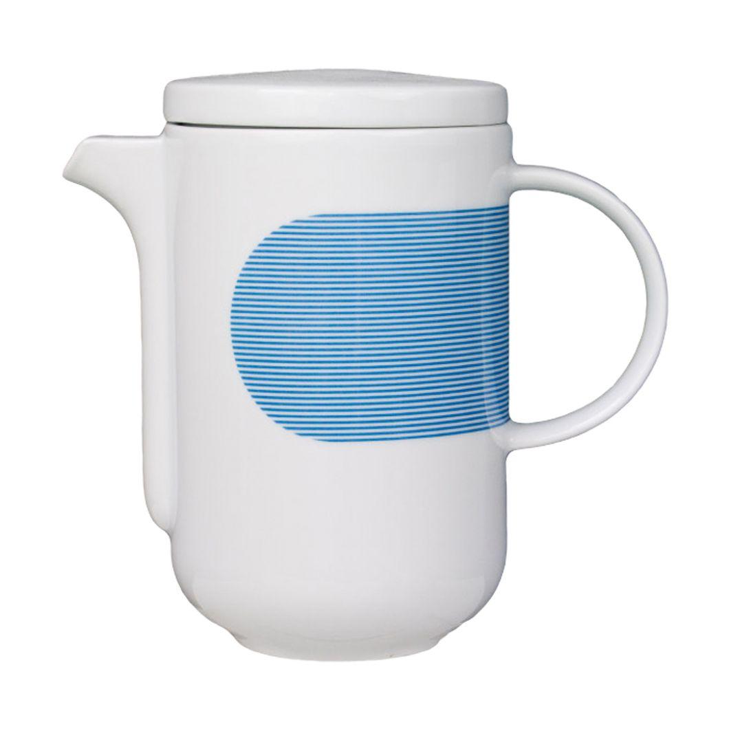 wohnen, porzellan_und_keramik, kannen, hochzeitsgeschenke, TEEKANNE NEW ATELIER | BLAU - newatelier blue imbryk
