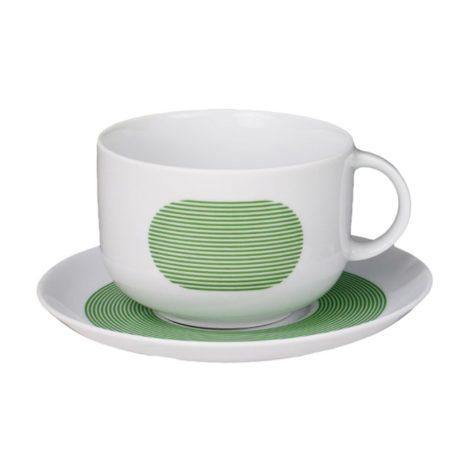 , TASSE MIT UNTERTASSE NEW ATELIER | GRÜN - newatelier green filiżanka 470x470