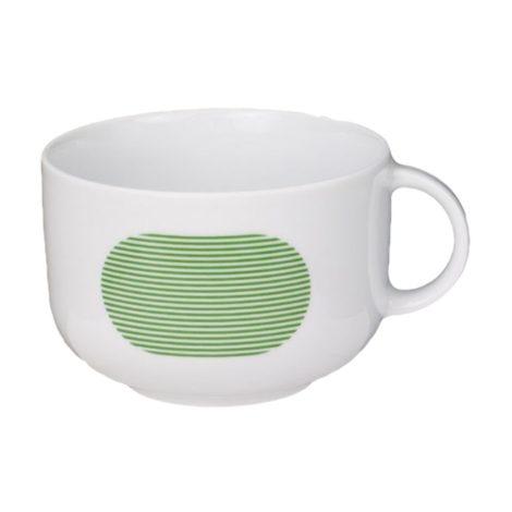 tassen, porzellan_und_keramik, wohnen, hochzeitsgeschenke, greenery, TASSE NEW ATELIER | GRÜN - newatelier green kubek 470x470