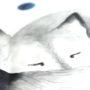 , KIDS BED LINEN SLEEPING WOLF - wilk 8 90x90