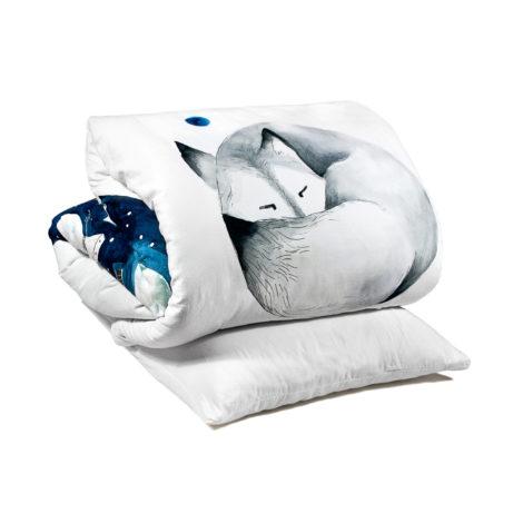 , KIDS BED LINEN SLEEPING WOLF - wolf packshot 470x470