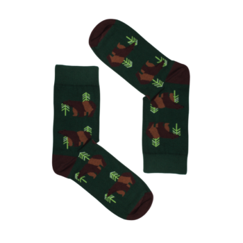 , SOCKS BROWN BEARS - misie 350x350