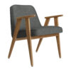 sessel, mobel, wohnen, SESSEL 366 LOFT - 366 Concept 366 Armchair W02 Loft Grey 100x100