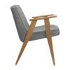 sessel, mobel, wohnen, SESSEL 366 LOFT - 366 Concept 366 Armchair W02 Loft Silver side 100x100
