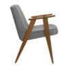 sessel, mobel, wohnen, SESSEL 366 LOFT - 366 Concept 366 Armchair W03 Loft Silver side 100x100