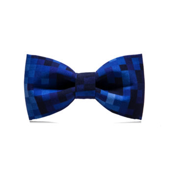 bekleidung-en, bow-ties, clothes-accessories, BOW TIE TERRAZZO - Navy Pixel 350x350