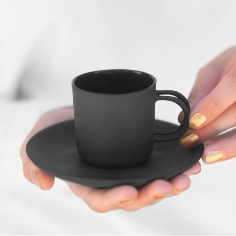 , ESPRESSO TASSE - SCHWARZ - espresso black 470x470