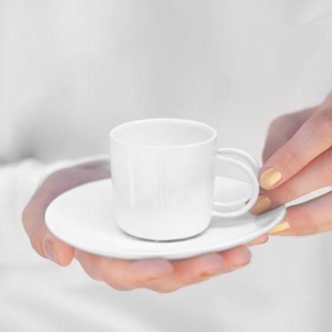 , ESPRESSO CUP - WHITE - espresso white 470x470