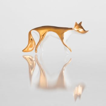 , GOLDEN FOX FIGURINE - lisek zloty4 350x350