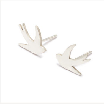 , EARRINGS SWALLOW | SILVER - 29 kopia 350x350