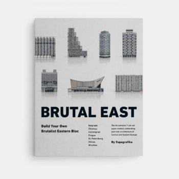 papierartikel, paper-cut-outs, BRUTAL EAST - 01BrutalEast Zupagrafika 350x350