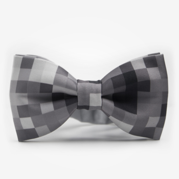 bekleidung-en, bow-ties, clothes-accessories, BOW TIE REX - Grey Pixel 350x350