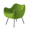 armchairs, furniture, interior-design, RM58 SOFT | FAME - RM58 SOFT FA6 H 76 100x100