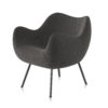 armchairs, furniture, interior-design, RM58 SOFT | STEP - RM58 SOFT ST14 H 103 100x100