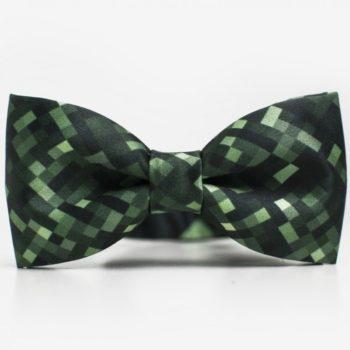 bekleidung-en, bow-ties, clothes-accessories, BOW TIE GINEE PIXEL - mucha green pixel 350x350