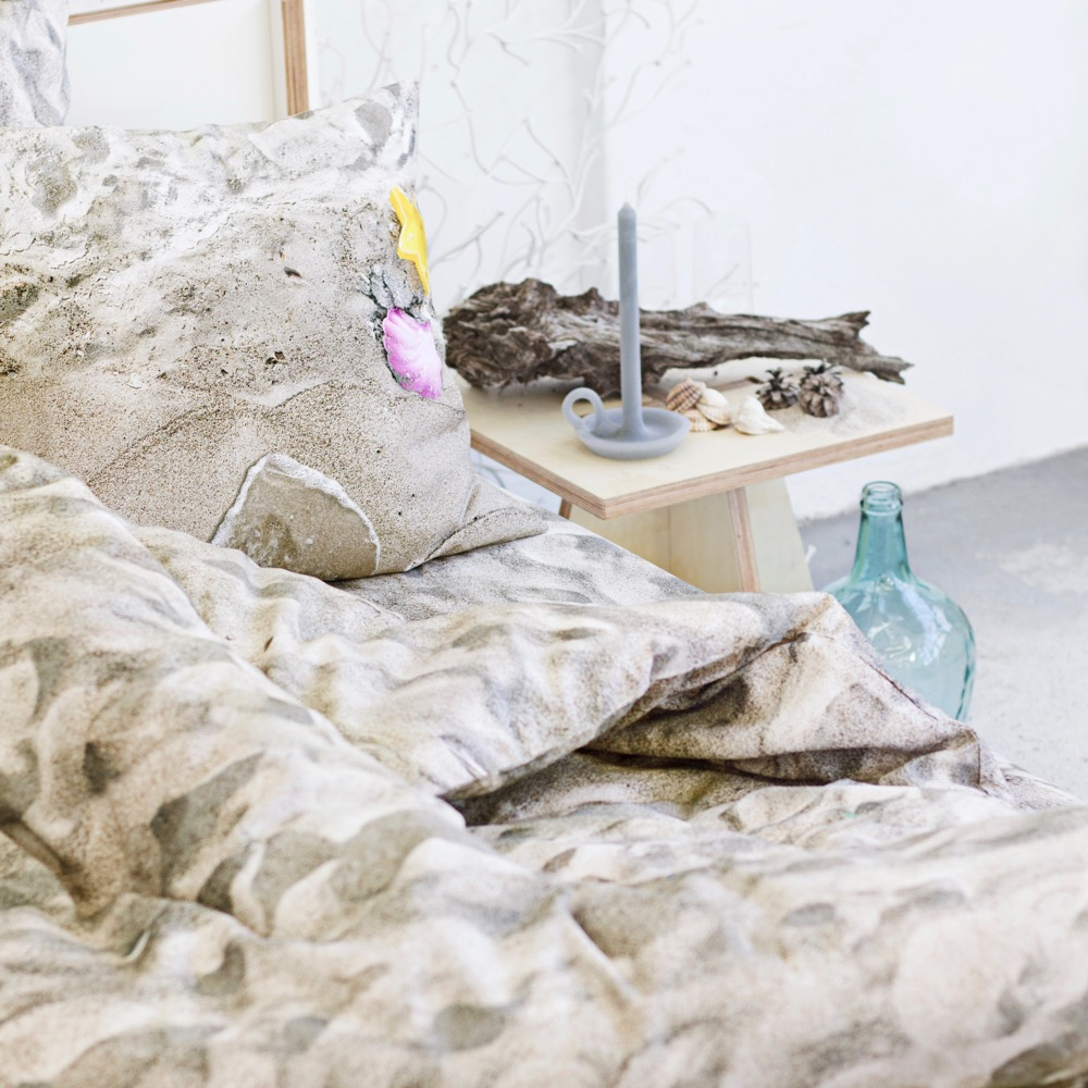 wohntextilien, wohnen, hochzeitsgeschenke, bettwaesche, HAYKA ALPENWIESE BETTWÄSCHE - sand bed 2 1