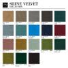 sessel, wohnen, 366 STOFFPROBEN - 366 Concept SHINE VELVET Collection 100x100