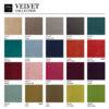 sessel, wohnen, 366 STOFFPROBEN - 366 Concept VELVET Collection 1 100x100
