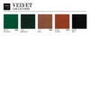 sessel, wohnen, 366 STOFFPROBEN - 366 Concept VELVET Collection 2 100x100