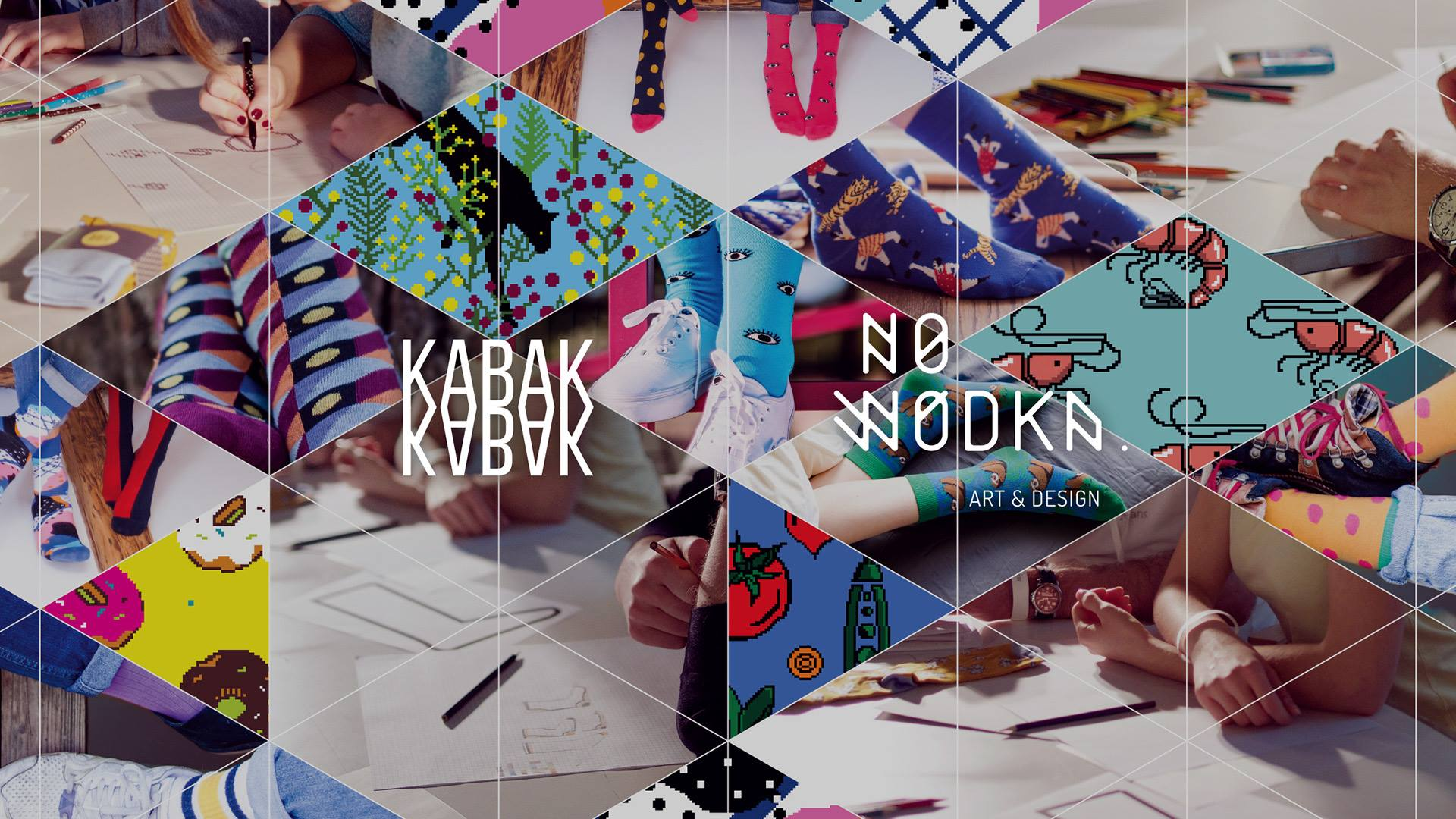 Design your own socks with KABAK – workshop