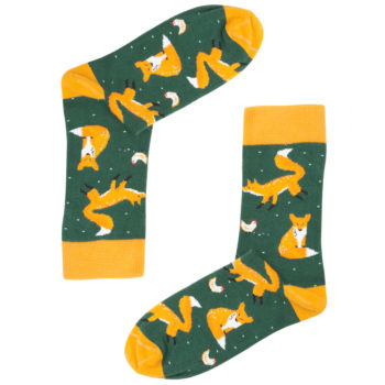 , SOCKS GREEN FOX - 020 350x350