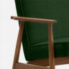, LOUNGE SESSEL FOX | VELVET - 366 Concept Fox Armchair W03 Velvet Bottle Green detal 100x100